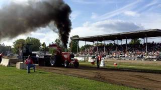 Fall Nationals Tractor Pull Monroe Wisconsin 9/19/9