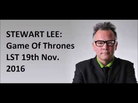 Stewart Lee on Game Of Thrones