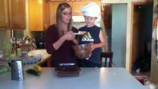 Kelli's Kitchen: Dark Chocolate Gluten-free Zucchini Cake