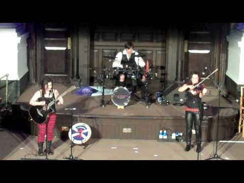"""Reely Jiggered live at Celtic Connections (2013) Danny Kyle Open Stage """"Warrior Set"""""""
