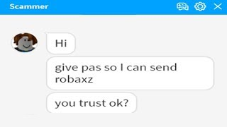 TROLLING A ROBLOX SCAMMER-#1