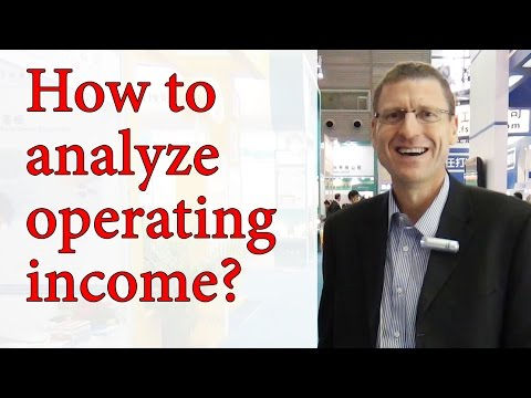 CPA - Strategic Analysis of Operating Income - Part 2