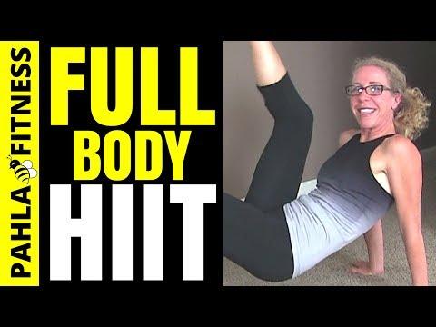 beginner hiit floor workout  20 minute cardio strength