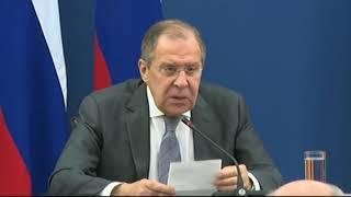 Пресс-конференция С.Лаврова и Э.Налбандяна