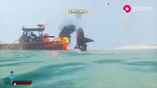 小林解说 饥饿鲨3D版 海滩的游客,都是我的猎物!