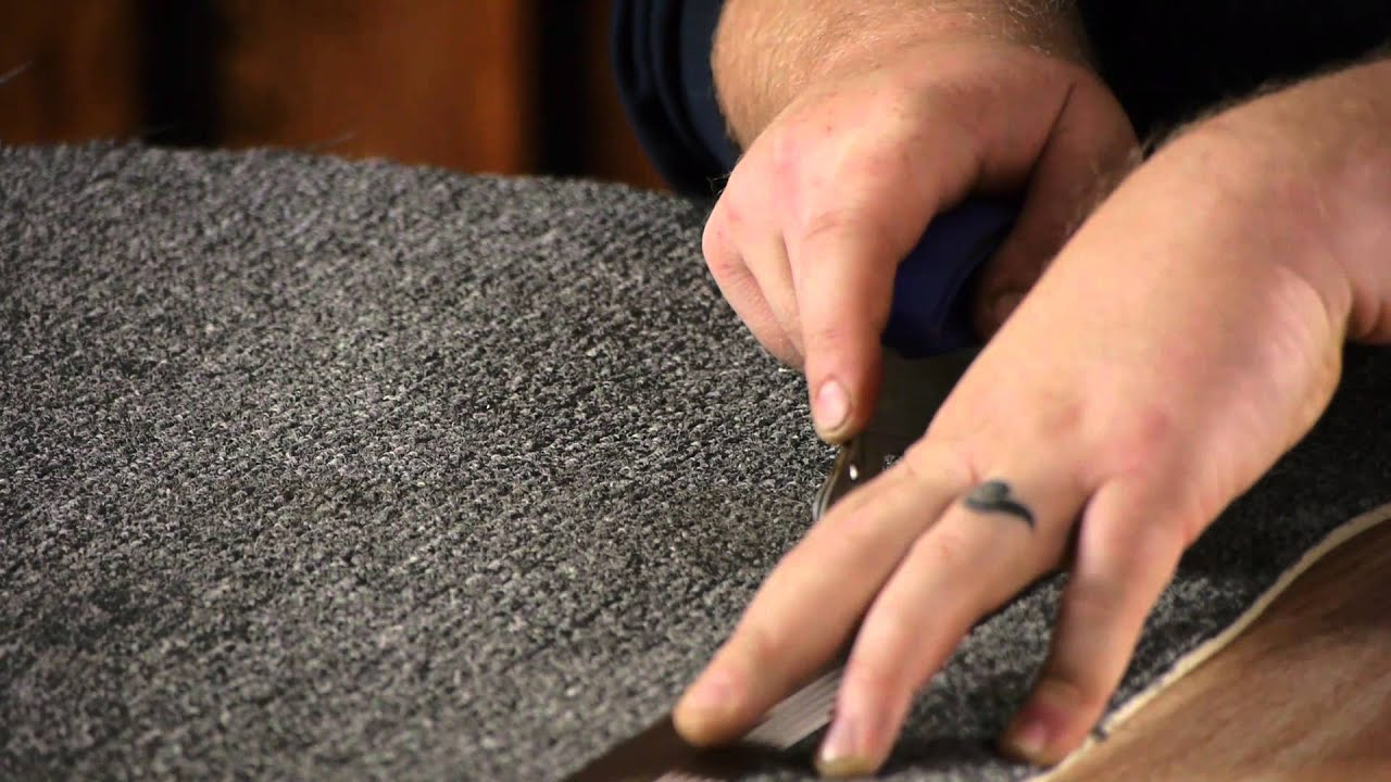 How to Use a Carpet Trimmer Carpet & Rugs