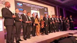 2018 FIABCI World Prix d;Excellence Awards Gala Dinner in Dubai
