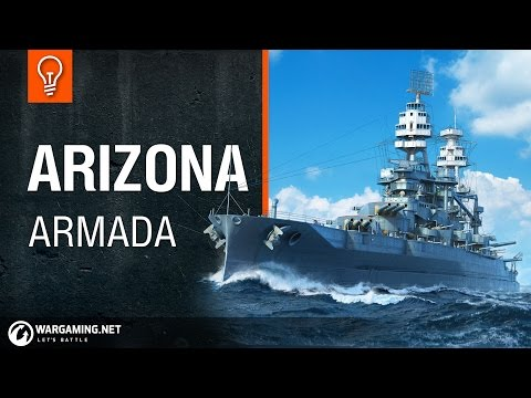 World of Warships - Armada: USS Arizona