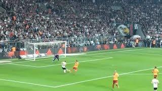 Besiktas 3-0 Galatasaray | Taraftar | Cenk Tosun ilk pozisyon