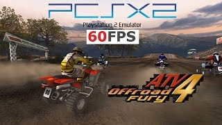 ATV Offroad Fury 4 PS2 PCSX2 60fps 16:9 1440p gameplay i7 4790k (Sony, 2006)