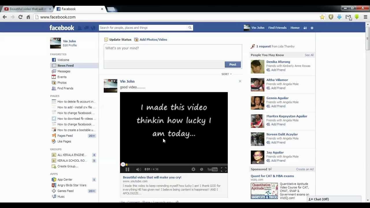 how to add ( embed ) youtube video to facebook ? - YouTube