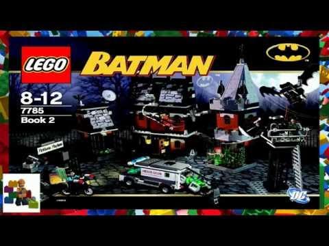 LEGO Instructions  - Batman ™ - Arkham Asylum™ - 7785 (Book 2)