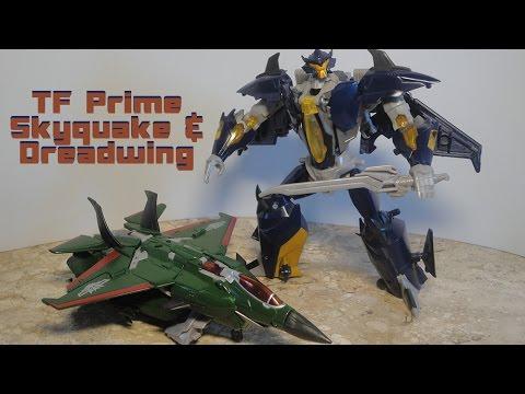 Skyquake & Dreadwing TF Prime Revisão em Português - YouTube