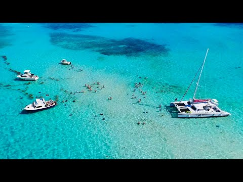 Grand Cayman Stingray City Drone 4K ©