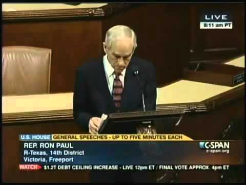 Ron Paul NDAA Shut Up.You Don't Get a Lawyer ""
