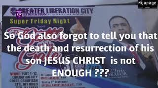 Dr Chris Okafor of liberation City church thumbnail