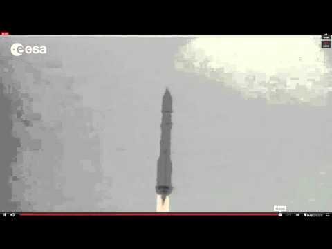 Proton Rocket Launch...