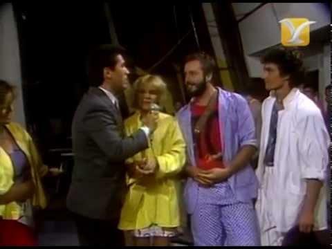 Festival de #ViñadelMar 1986, Backstage Charlene Tilton, Domenick Allen, QEP