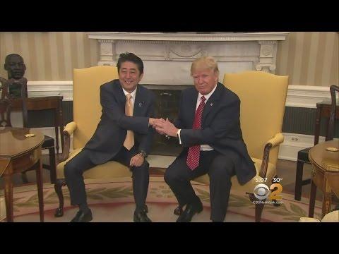 Trump Welcomes Japan