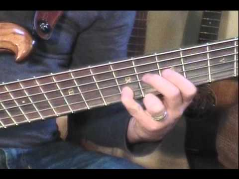 Hanging Gardens bass intro performed by Cormorant'...