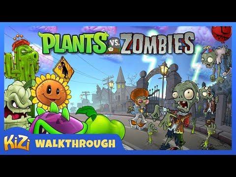 [Kizi Games] Plants vs Zombies → Walkthrough
