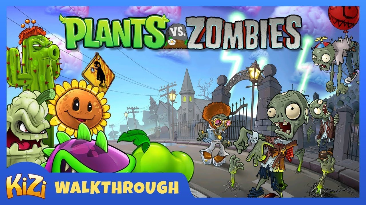 Kizi Games Plants Vs Zombies Walkthrough Youtube