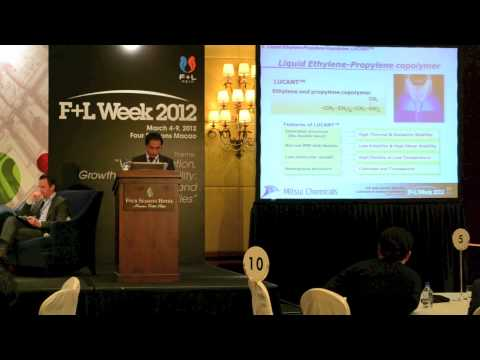 6th Asia-Pacific Base Oil, Lubricant & Grease Conference: Shota Abe