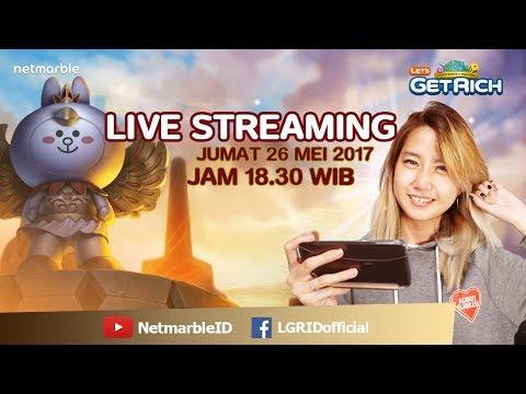 Let's Get Rich Live Streaming#37 - Garuda Cony telah datang