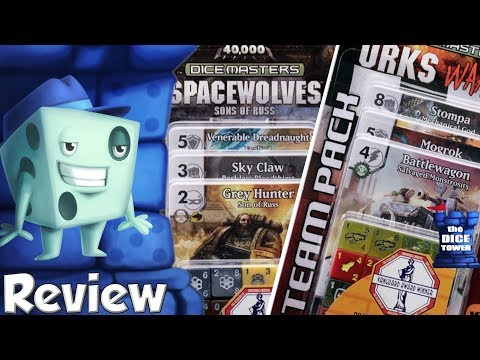 Warhammer 40K Dice Masters Team Packs Review - with Tom Vasel