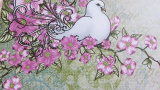 Heartfelt Creations Flowering Dogwood Close Up