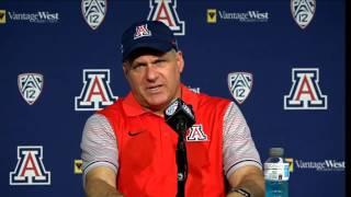 Arizona Football Press Conference [1/2]