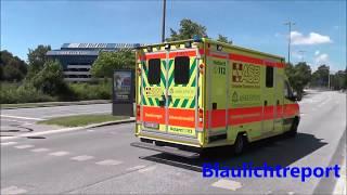 Hamburg: ASB Intensiv-RTW + RTW 12A Wechselhorn + NAW DRK Hamburg