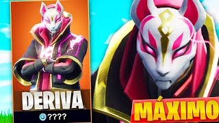 **UNLOCKING** THE LEGENDARY SKIN DRIFTS TO THE MAXIMUM IN FORTNITE: Battle Royale!