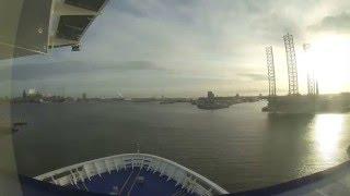 DFDS SEAWAYS - King Seaways docking timelapse