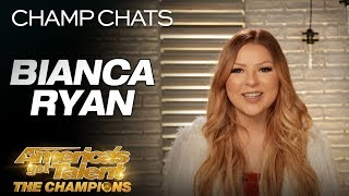 Bianca Ryan Chats Candidly About Relearning Her Voice - America's Got Talent: The Champions