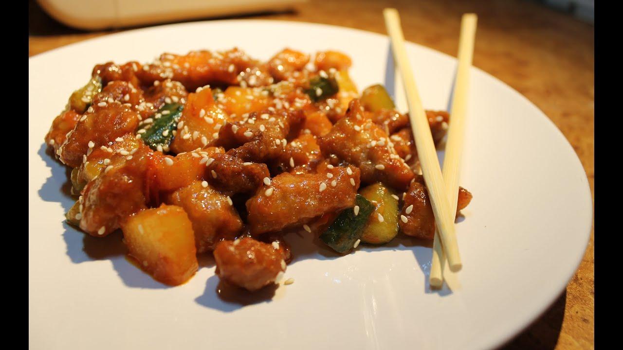 свинина в кляре в кисло сладком соусе по китайски