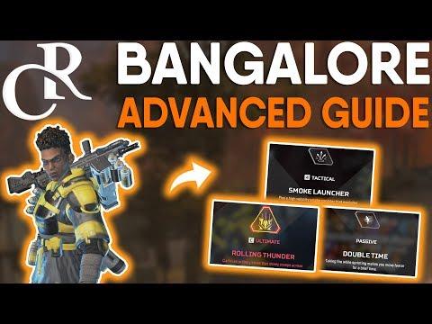 BANGALORE - IN-DEPTH ADVANCED GUIDE! - Apex Legends Tutorial/Guide