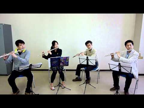 """Christmas Morning"" for Flute Quartet, George Frederick Mckay, ??????????"