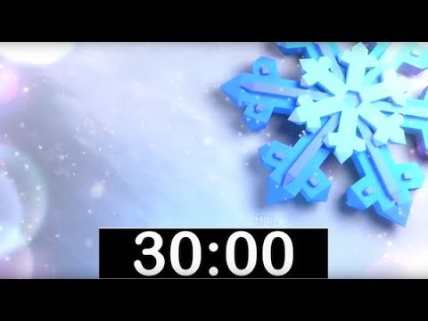30 Minute Timer with Classical, Calm Music! Countdown Timer for Kids, Piano Instrumental Music!