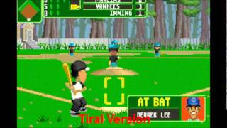 Backyard Baseball 2007 Gameplay/review