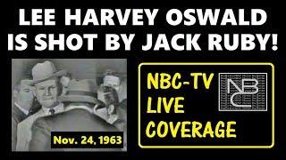[** QUALITY UPGRADE **] LEE HARVEY OSWALD IS SHOT (NOVEMBER 24, 1963) (NBC-TV LIVE COVERAGE)