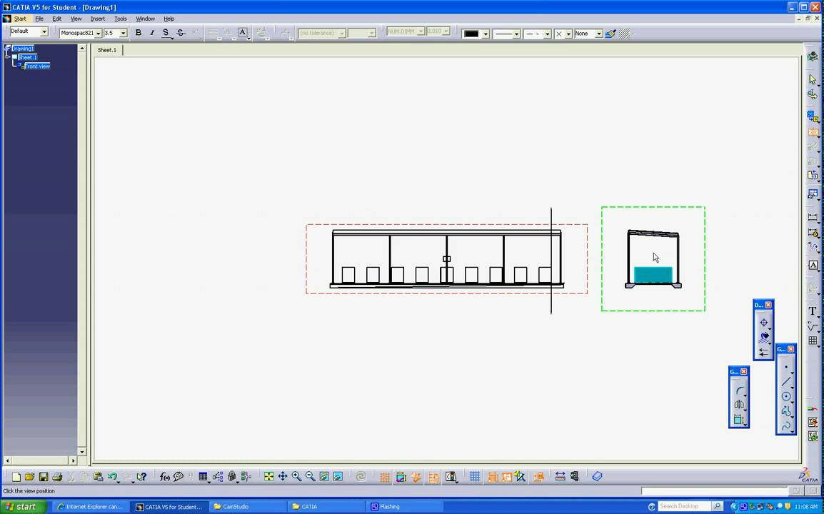 How To Extract Dwg 2d From 3dxml 3d Model Avi Youtube