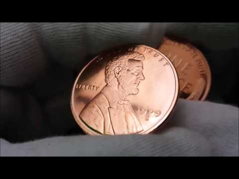 Lincoln Wheat Cent 1 oz Copper Rounds Unboxing