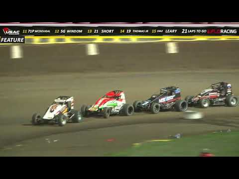 Kokomo Smackdown Night #1 USAC National Sprint Car Highlights