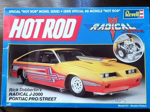 Model Kit Review - Revell Pontiac Radical J2000 (08.15.14)