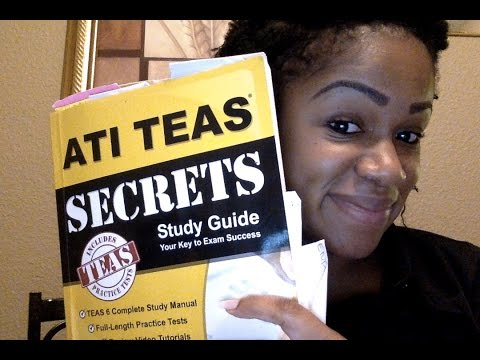 ATI TEAS (TEAS Version 6) Experience!