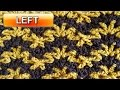 Ripple V Stitch - Left Handed Crochet Tutorial
