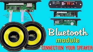 Usb Bluetooth Mp3 Module Player Connection Amplifire |