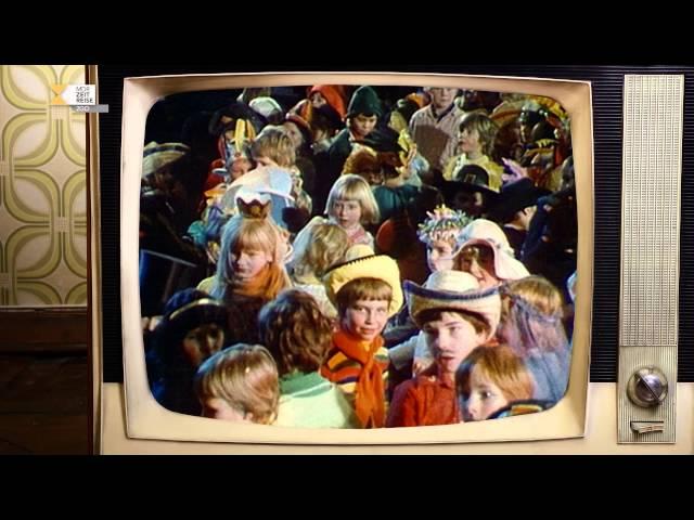 Ansichtskarte Radeburger Volksfasching | Fernsehjahr 1980
