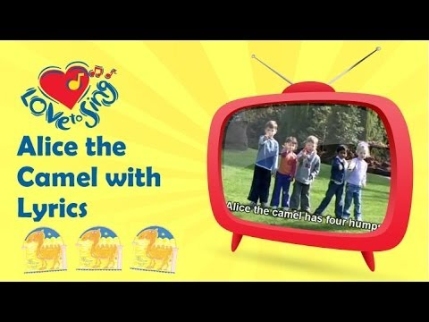 Alice the Camel - Counting Songs for Kids - Action Songs ...